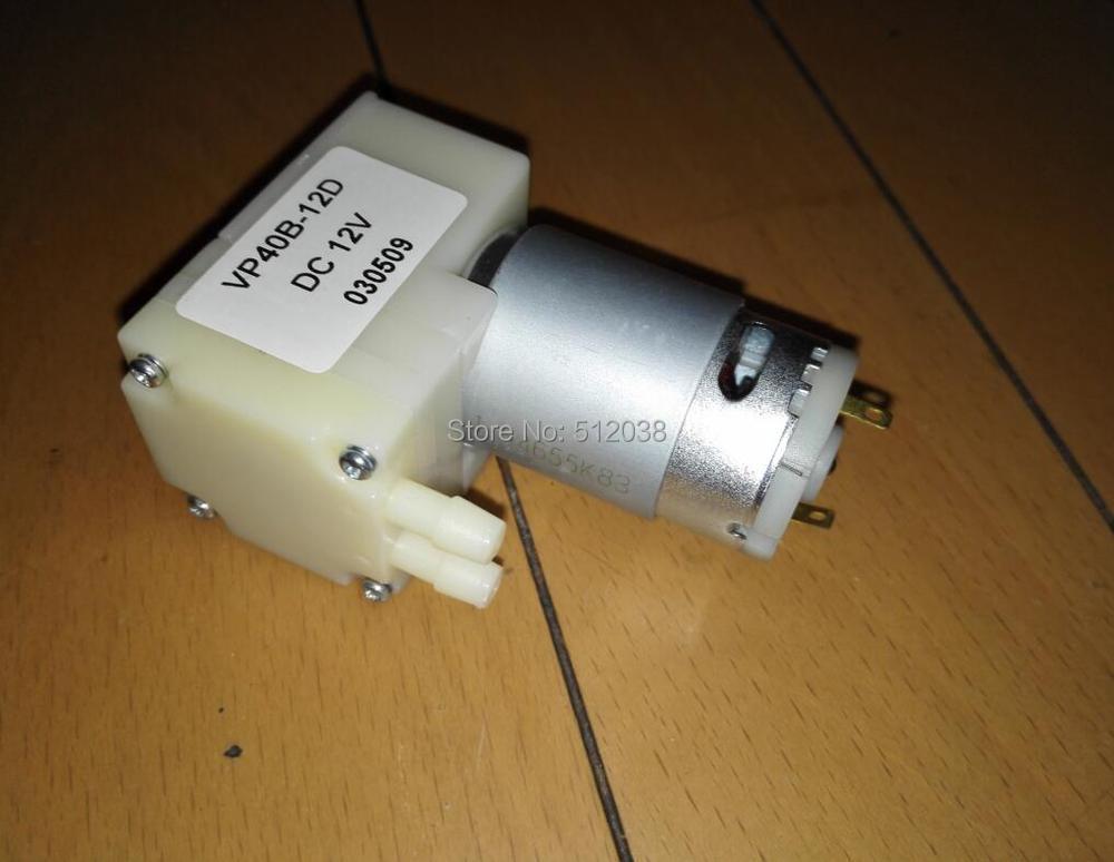 65Kpa Mini Micro Vacuum Pump Diaphragm Pressure Pump Negative Pressure DC12V
