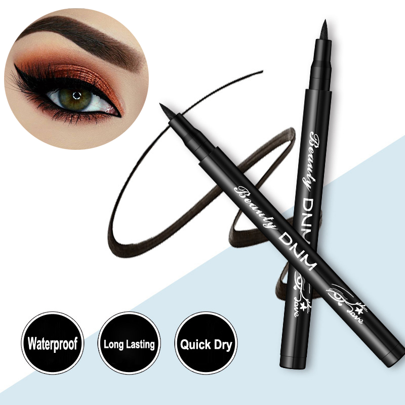 Eyes Makeup Waterproof 12 Colors Liquid Eyeliner Pen Make Up Cosmetics Long-lasting Black Eye Liner Pencil Makeup Tools