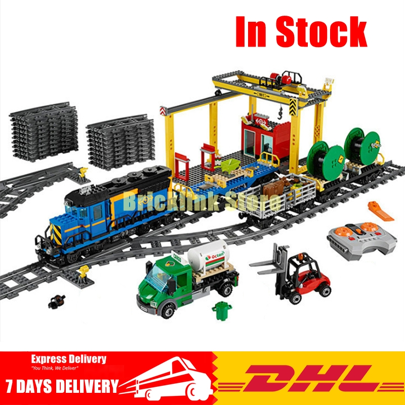 Lepin 02008 959PCS City Explorers Cargo Train DIY Building Blocks Bricks Educational Toys for Children Gifts 60052 lepin 02008 the cargo train 959pcs city series legoingly 60052 plate sets building nano blocks bricks toys for boy gift