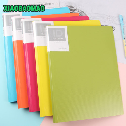 20 Pockets A3 Clear Page Document File Bag Book Paper Storage Holder School Office Supply Stationery A3 Folder Booklet viron page 3