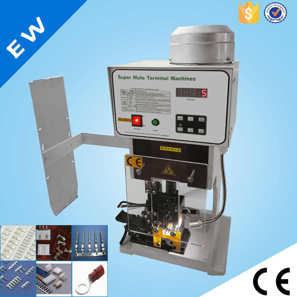 semi automatic terminal crimping machine cable crimping machine wire crimper machine ew  [ 1000 x 1000 Pixel ]