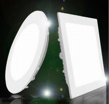 Super Bright Ultra-Thin 3W 6W 9W 12W 15W 18W 20W 25W LED Panel Light Round Square Ceiling Light Dimmable LED Light Bulbs
