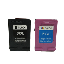 vilaxh 60 xl Remanufactured Ink Cartridges Replacement for hp 60xl Deskjet F2480 F2420 F4480 F4580 F4583 D2530 F4280 C4683