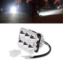 DC12-85V Motorcycle LED Headlight Far Near Light Electric Car Built-in Spotlight near far