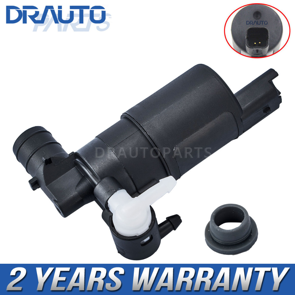 Twin Outlet Windscreen Washer Pump For Peugeot 307 SW Estate All Models All Years 6434.75, 96 345 589 80, 6434.98, 6434.92 smart washer sw c1