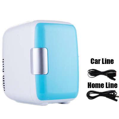 Двойное использование 4L домашнего использования автомобиля холодильники мини-Холодильники Морозильник охлаждение, отопление коробка хол...