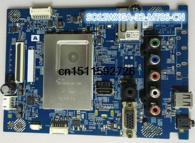 KIMME KLV-40BX450 Motherboard SO12WXGA-32/_MT06/_CN with Screen LTA400HM19