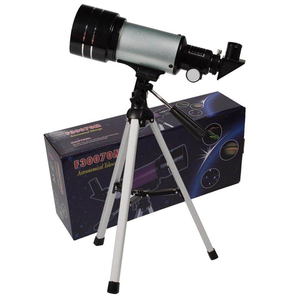 Qualité supérieure 150X Zoom HD Extérieure Monoculaire télescope astronomique espace Avec trépied portable Animal Bird Spotting Scope F30070