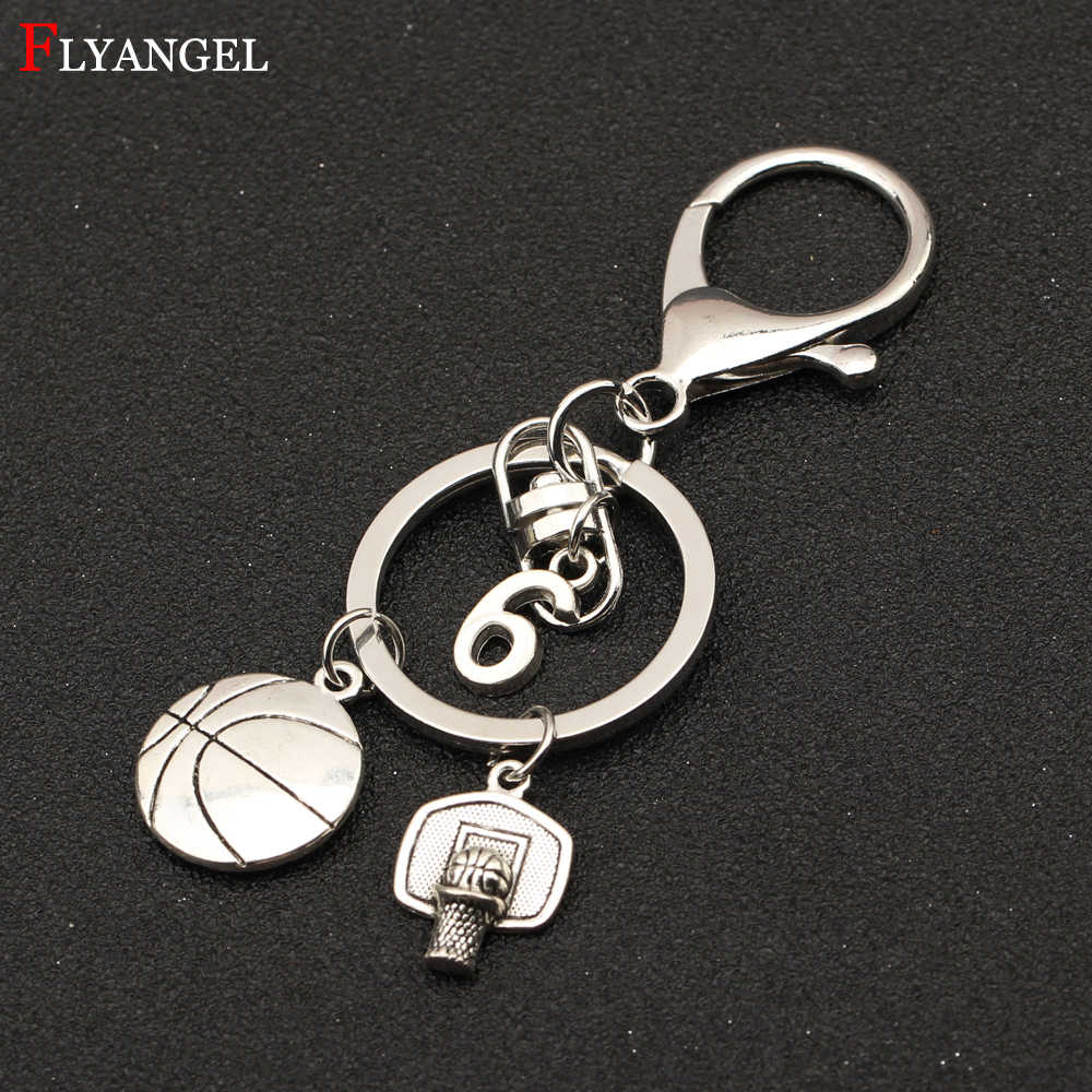 Detail Feedback Questions about Custom Numbers Keyring Basketball Hoop  Charms Keychain Select Your Favorite BasketBall Player Numbers Women Men  Ball Fans ... ad43dd433f