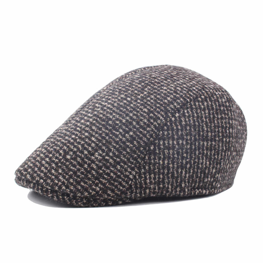 Unisex Vintage Casual Cotton Hat Winter Cap Vintage Warmer Berets Hat Mujer hats Female Warm hat gorros mujer invierno  Headgear