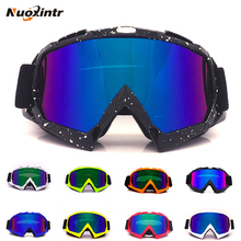 Nuoxintr Universal Motorcycle Goggles Glasses MX Outdoor Sport Motocross Dirt Bike Moto Man Women