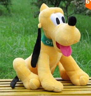 1pc 30cm assis peluche Pluto brinquedos peluche Animal Mickey famille jouet enfants jouets Kawaii cadeaux pour enfants