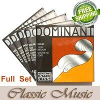 Thomastik Dominant 135B Full Violin String Set 4 4 Medium Made In Austria Free Shipping