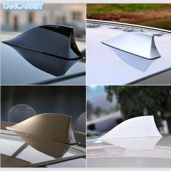 Upgraded Car Shark Fin Antenna Auto Roof FM/AM Radio Aerial FOR kia sportage 2019 bmw e91 golf 6 mitsubishi lancer nissan x trai image