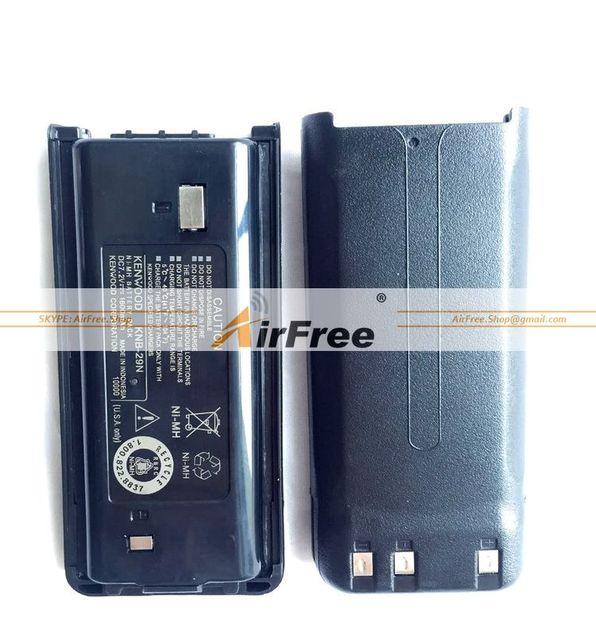 Envío gratis batería knb-29n 7.2 V 1600 mAh para Kenwood TK-2207 TK-3207 TK-2207G TK-3207G Radio de Dos vías walkie talkie