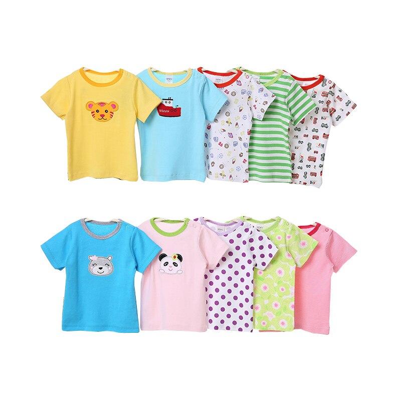 dbf7f869bf1f 2019 New 5pcs lot New Summer Girls Vest T Shirt Top Cotton ...