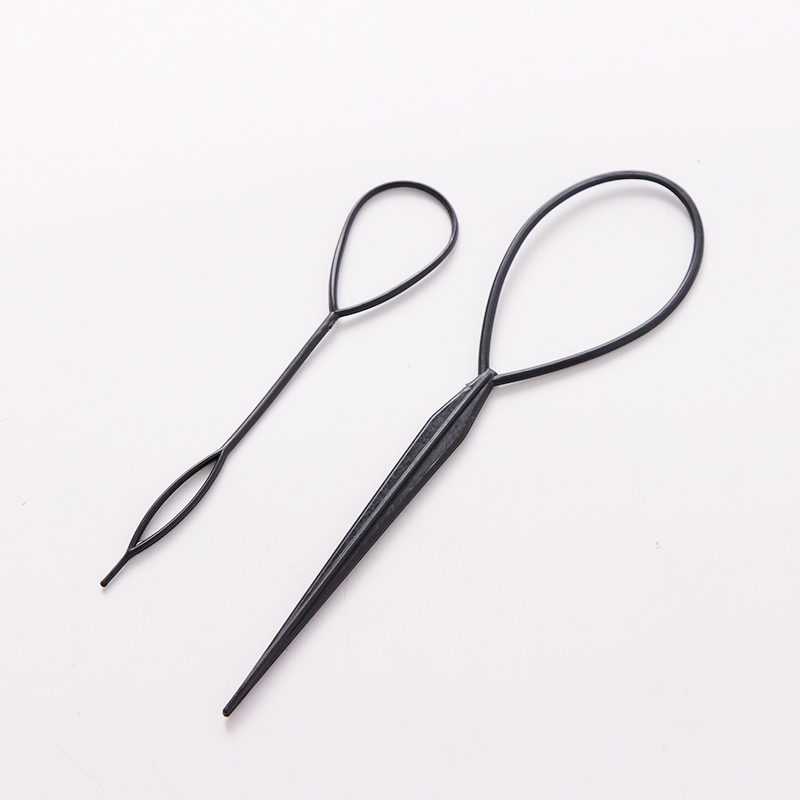 PjNewesting 2PCS Hair Style Maker Hair Styling DIY Tools Women Girls Hair Accessories Hair Pins Disk Kids Pull Pins Headbands