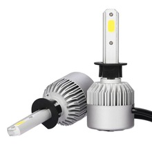 цены на ECAHAYAKU LED Car Headlight COB Bulb H4 H7 H13 H11 H1 9005 9006 9004 9007 6500K Hi-Lo Beam S2 72W 8000LM 12V 24V Auto Headlamp  в интернет-магазинах