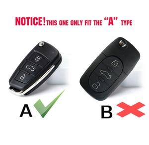 Image 2 - 3 кнопки силиконовый Автомобильный Брелок дистанционного управления с ключом чехол Чехол для Audi A1 S1 A3 S3 A4 A6 RS6 TT Q3 Q7 2005 2006 2007 2008 2009   2013