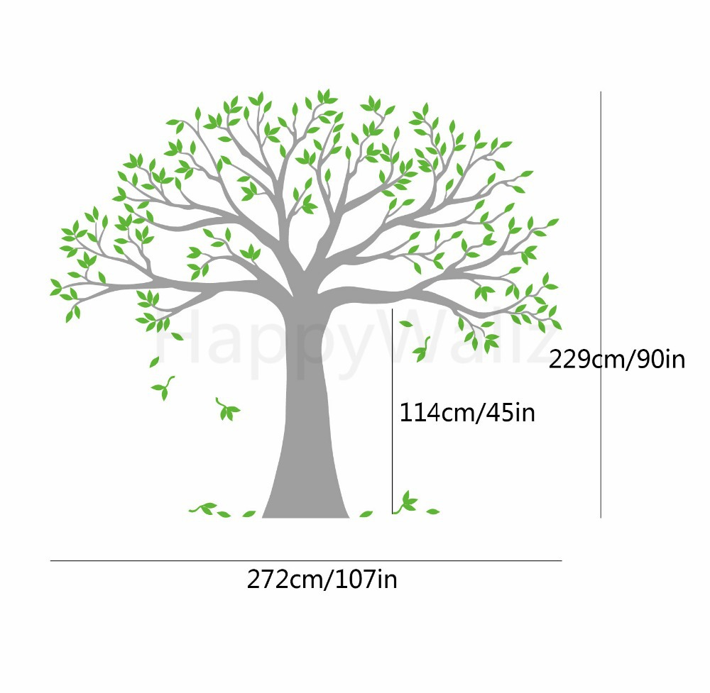 Large family tree wall stickers family photo tree wall decal diy large family tree wall stickers family photo tree wall decal diy removable wall decoration large tree wallpaper t43 in wall stickers from home garden on amipublicfo Image collections