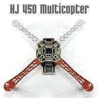 F02192 HJ 450 Multicopter 450F nylon Fiber Frame Casco kit Sterke Glad RC KK MK MWC 4-axle DIY Quadcopter vliegtuig