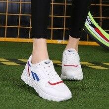 2017 Women's Shoes Women Sports Sneakers White Shoes Women Men Breathable Shoes US Size skate sneakers Breathable Sport Shoes