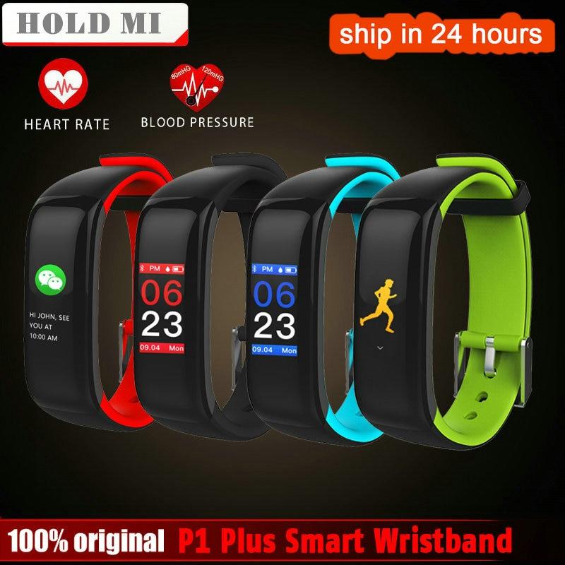 Halten Mi P1 Plus VS H1 Plus Smart band Bunte Fitness Armband Herz rate tracker Blutdruck Monitor Armband Wasserdicht