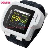 CONTEC,CMS50I Pulse Oximeter ,Health,White color,CMS50I Wrist Pulse Oximeter, perfect for long term PR & O2 Saturation Monitorin