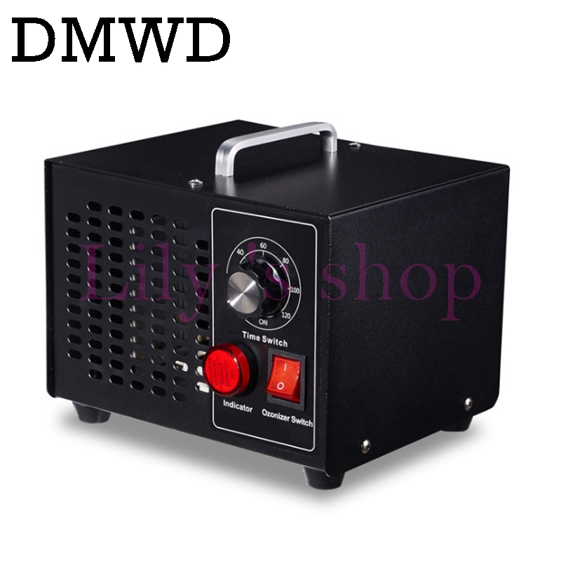 DMWD Ozone Generator Air Water Purifier Odor Cleaner Disinfector Filter Ozonizer Sterilizer With Timing Switch 3g