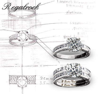 Regalrock Make any designs as your picture OEM Jewelry Factory as picture show