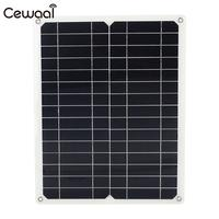 Solar Panel Fast Charger Monocrystalline Silicon Energy Saving Solar Charger Pane DIY Travel 12V 15W Phone Charger Solar Cell