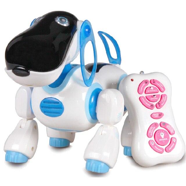 Transpace remote control robot intelligent machine dog electronic dog electric intelligent dog toy