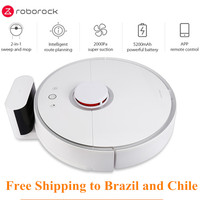 Roborock S50 Xiaomi MI Smart Robot Vacuum Cleaner 2 for Home Automatic Sweeping Dust Sterilize APP Smart Planned Washing Mopping