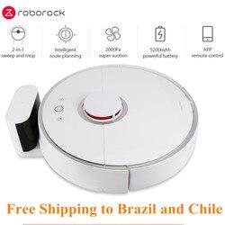 Roborock s50 xiao mi inteligente robô aspirador de pó 2 para casa automático varrendo poeira esterilizar app inteligente planejado lavar esfregar