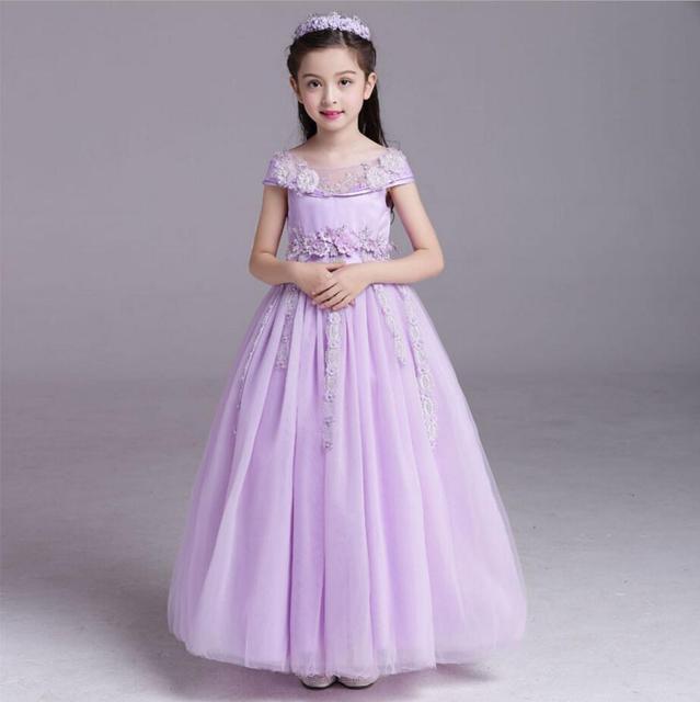 Childrens Evening Gowns Girl Cinderella Dress Formal Dress Baby