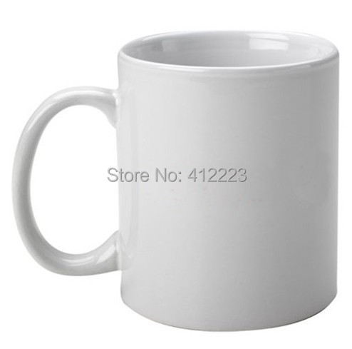 56pcs Lot Plain White Sublimation Ceramic Coffee Mugs Whole For Promotional And Gift Blank