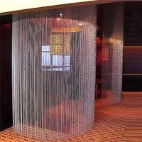 Jeden Zestaw Kryty Dekoracyjne Akrylowe Kryształ Szklany Koralik Kurtyna, Materiały ślubne Uroczysty Etap Tle Dekoracji