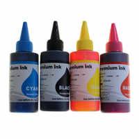 Für Canon Pixma G1411 G2411 G3411 G4411 G2415 G3415 dye-tinte refill kit patrone ciss 4 Farben BK C M Y 100 ML/Flasche