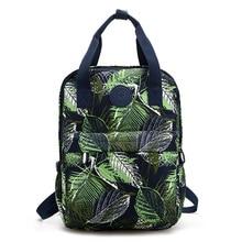 Prinitng femmes sac à dos lavable tissu sac à dos jeune fille sacs d'école marque femelle Mochila Feminina