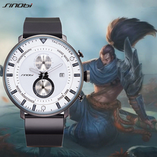 Sinobi novo criativo masculino esportes relógios relógio de quartzo dos homens wirstwatches marca superior luxo à prova dwaterproof água pulso relogio masculino