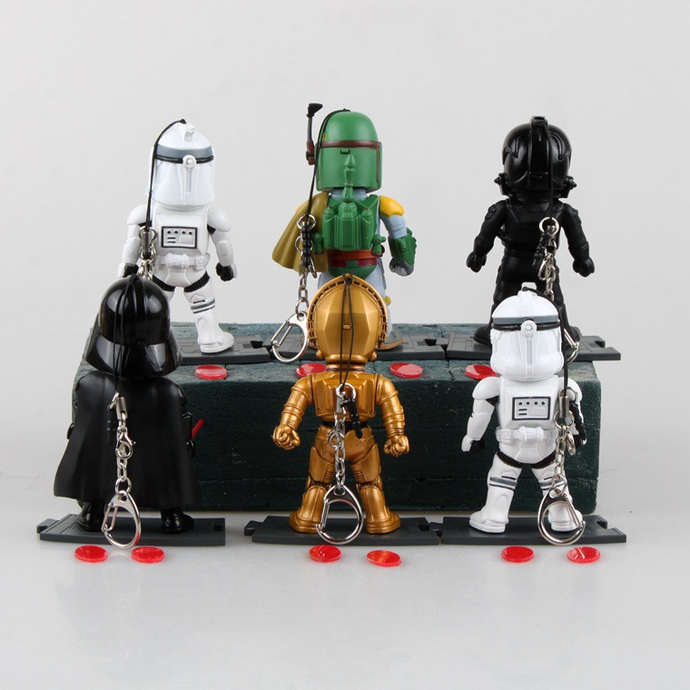 Star Wars Action Figure Black Knight Darth Vader Stormtrooper Figures Kids Toys Brinquedos - Supertouch Store store