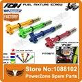 KEIHIN FCR Carburador Ar Fácil Mistura de Combustível CNC Ajustador Parafuso Fit Motocicleta KXF KLX CRF YZF WR KTM de Motocross RMZ