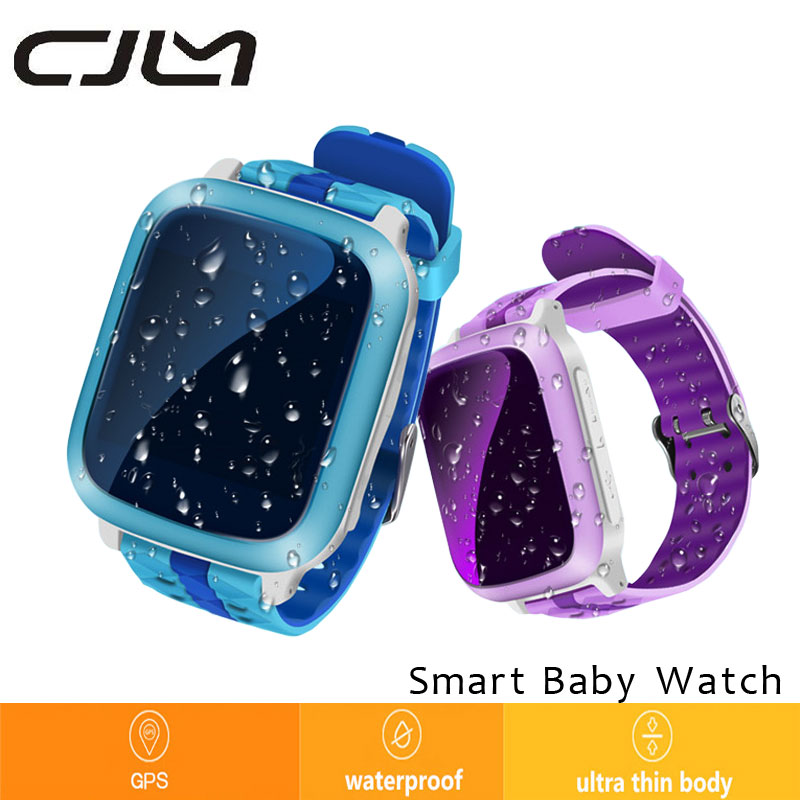 Smart Baby Watch GPS Tracker DS18 For Kids 2016 Wifi SOS Anti Lost Location Finder font