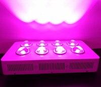 400 와트 속 빛 G3 프로 시리즈 8*50 와트 COB 빛 램프 6 밴드 레드 + 블루 + 오렌지 + 화이트 + IR + UV