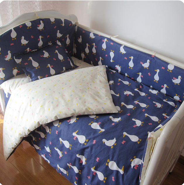 Promotion! 9PCS Whole Set Baby Cot Crib Bedding Set Baby Bumper Free Shipping,4bumper/sheet/pillow/duvetPromotion! 9PCS Whole Set Baby Cot Crib Bedding Set Baby Bumper Free Shipping,4bumper/sheet/pillow/duvet