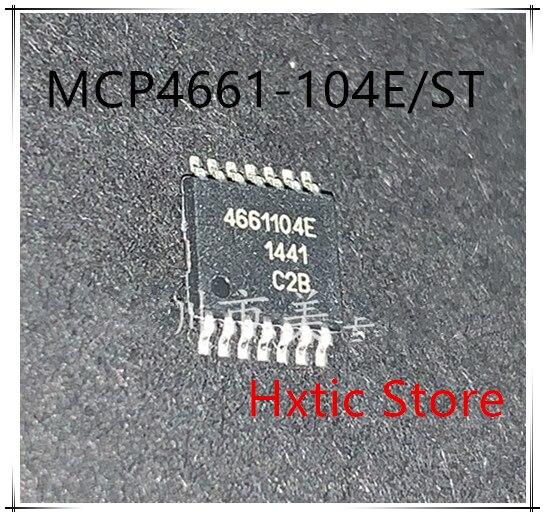 NEW 10PCS LOT MCP4661T 104E ST MCP4661T 104 MCP4661 4661104E TSSOP 14IC