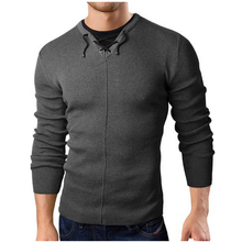 2019 New Fashion Brand Casual Sweater Fake Two Pieces Slim Fit Knitting Mens Sweaters And Pullovers Men Pullover XXL