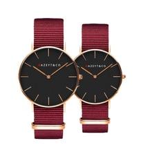 new arrived Nazeyt watch for couple classic Analog quartz ma