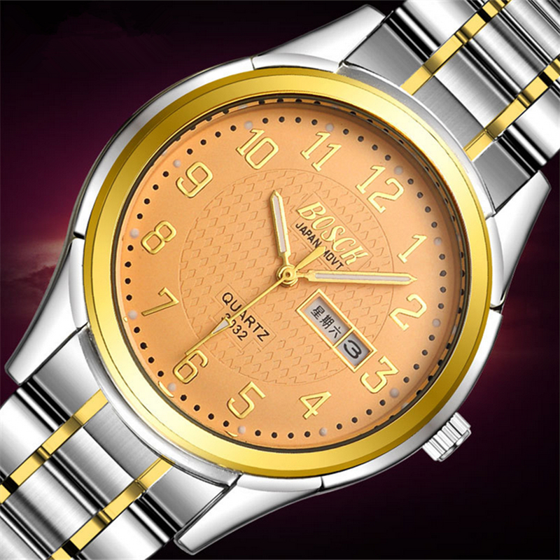 BOSCK Relogio Masculino Fashion Montre Homme Reloj Hombre Quartz-Watch men Watch Leather Wristwatches Men Watches 8813