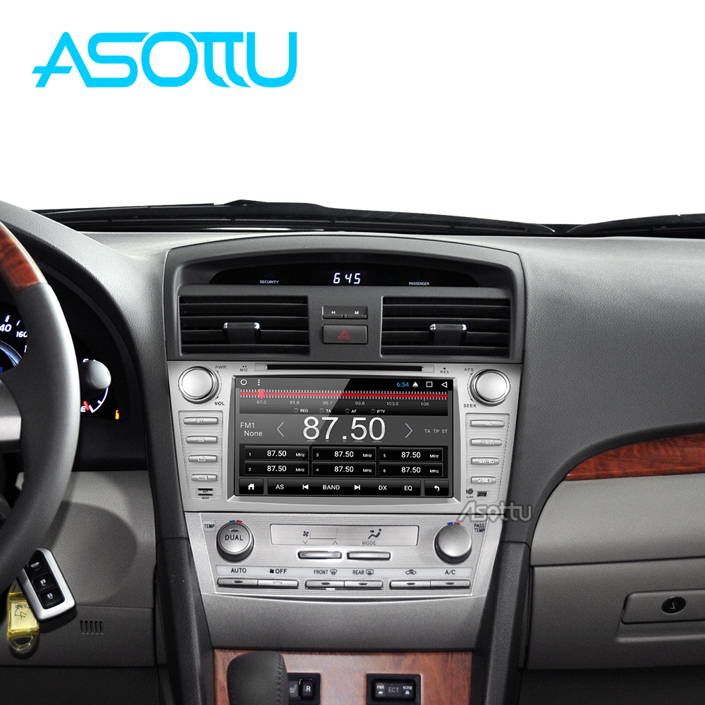 Asotto ZKMR8060 2G+32G android 7.1 car dvd navigation car dvd  for Toyota camry 2008 2009 2010 2011 car stereo multimedia player-in Car Multimedia Player from Automobiles & Motorcycles    1